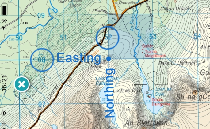 Easting Northing
