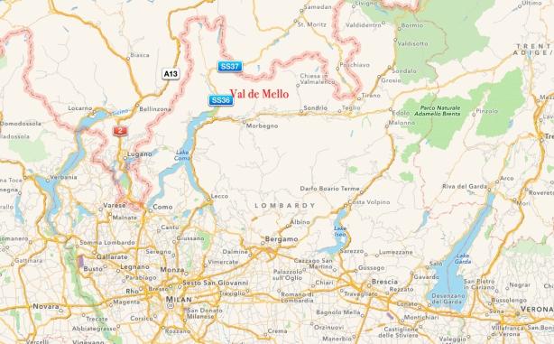 Val dI Mello map